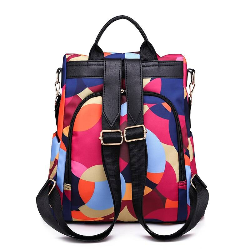 Women's Colorful Print Travel Backpack Best Sellers Best Backpacks Trendy Backpacks Women's Bag 13dba24862cf9128167a59: Black|Black 2|Print 1|Print 10|Print 12|Print 13|Print 2|Print 3|Print 4|Print 5|Print 6|Print 7|Print 8|Print 9|Red