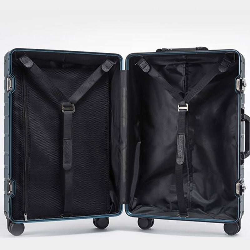 Wheeled Aluminum Travel Suitcase Best Sellers Best Suitcases cb5feb1b7314637725a2e7: Black|Blue|Gray|Red|Silver