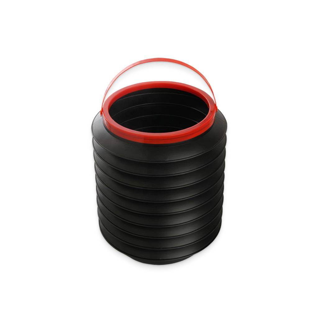 Collapsible Plastic Trash Bin With Handle Luggage Accessories Travel Accessories